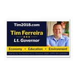 Tim 2018 - Picture Rectangle Car Magnet