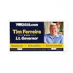 Tim 2018 - Picture Aluminum License Plate