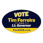 Tim 2018 - Vote - Oval Sticker