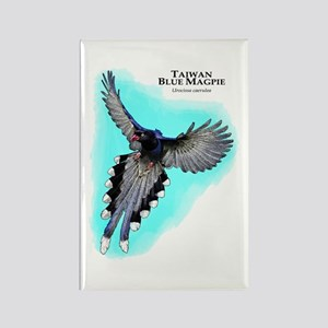 Taiwan Blue Magpie Magnets