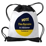 Tim 2018 - Vote - Circle Drawstring Bag