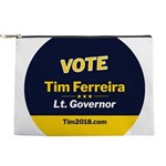 Tim 2018 - Vote - Circle Makeup Bag
