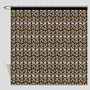 Nouveau Uhuru Tribal Pattern Shower Curtain