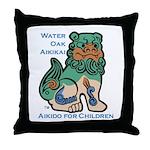 Aiki Kids Throw Pillow