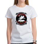 Women's T-Shirt Giant Emblems Front & Back