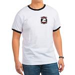 Ringer T Emblem Front & Back T-Shirt
