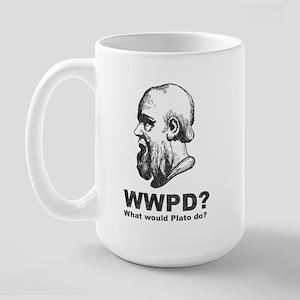 What Would Plato Do? Large Mug