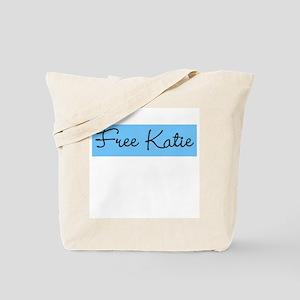 Free Katie (script) Tote Bag