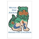 Aiki Kids Large Poster