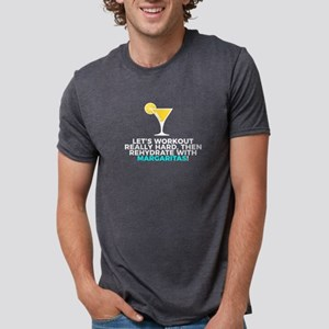 Workout & Rehydrate With Margaritas Light T-Shirt
