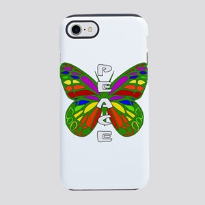 Peace Butterfly iPhone 8/7 Tough Case