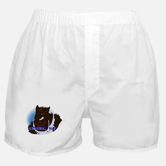 Howling Mad Werewolf Boxer Shorts