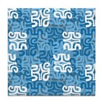 Swanky Mo Teal Tile Coaster