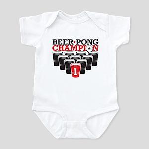 Beer Pong Champion Infant Bodysuit