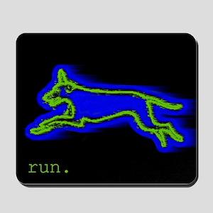Run Dog Mousepad