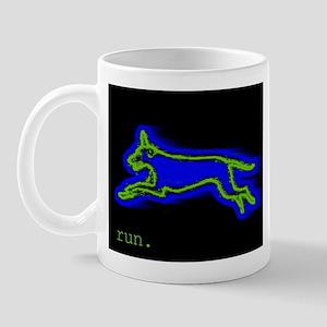 Run Dog Mug