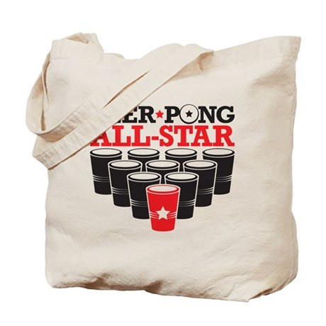 Beer Pong All Star Tote Bag