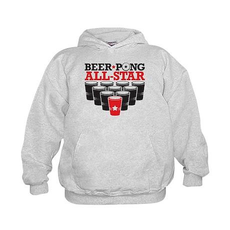 Beer Pong All Star Kids Hoodie