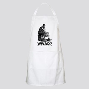 What Would Aristotle Do BBQ Apron