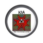 KIA Wall Clock