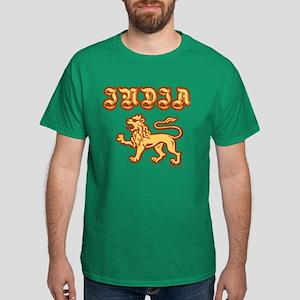 India Lion. Dark T-Shirt