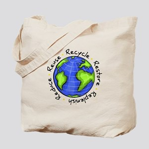 Recycle - Reduce - Reuse - Replenish Tote Bag