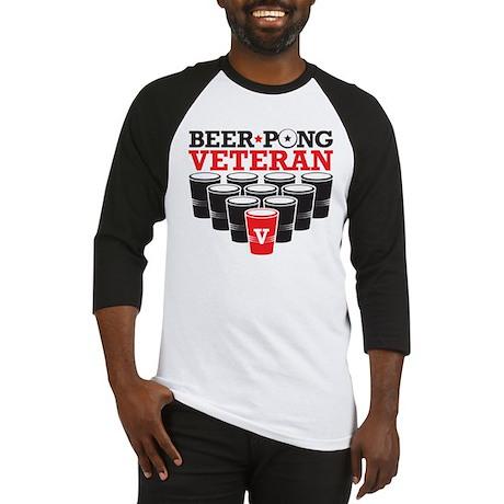 Beer Pong Veteran Baseball Jersey