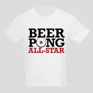 Beer Pong - All Star Kids Light T-Shirt