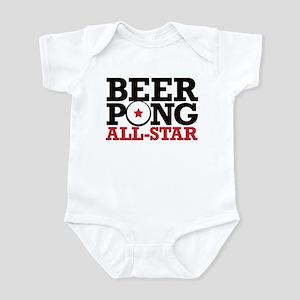 Beer Pong - All Star Infant Bodysuit