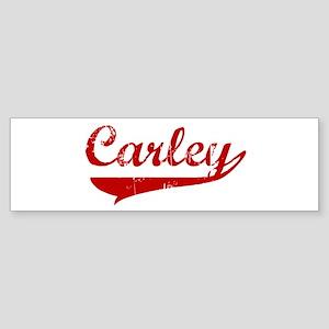 Carley (red vintage) Bumper Sticker