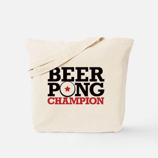 Beer Pong - Champion Tote Bag