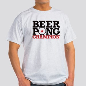 Beer Pong - Champion Light T-Shirt