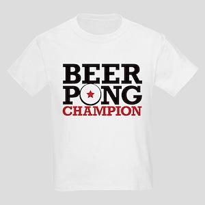 Beer Pong - Champion Kids Light T-Shirt