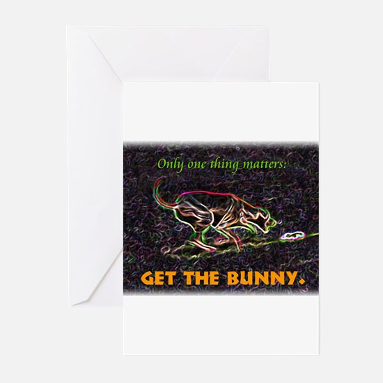Lure course/bunny Greeting Cards (Pk of 10)
