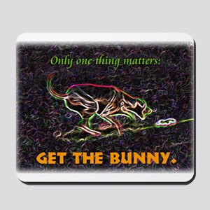 Lure course/bunny Mousepad