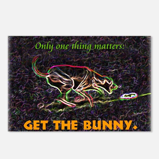 Lure course/bunny Postcards (Package of 8)