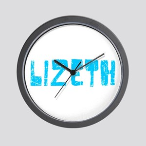 Lizeth Faded (Blue) Wall Clock