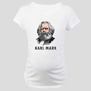 Karl Marx Maternity T-Shirt