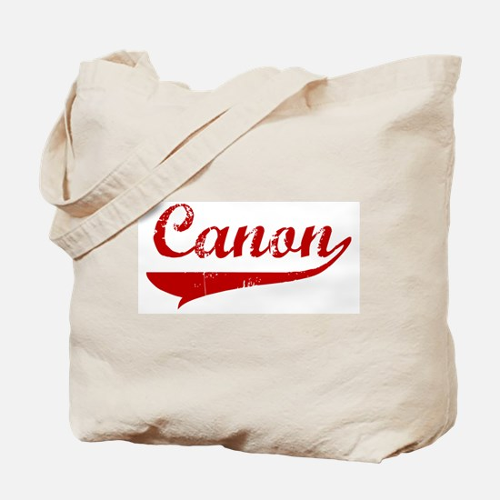 Canon (red vintage) Tote Bag