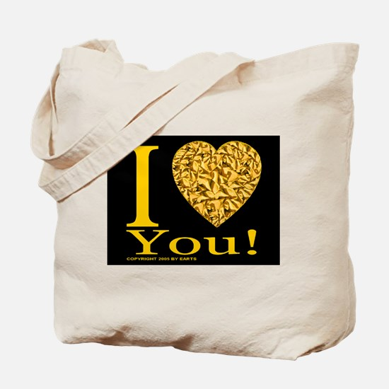 I (Heart) You Tote Bag