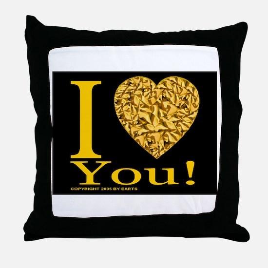 I (Heart) You Throw Pillow