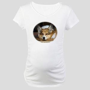 Welsh Corgi (Pembroke) Maternity T-Shirt