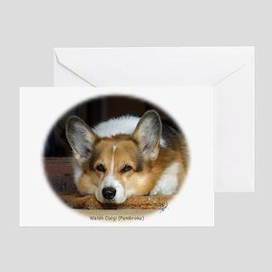 Welsh Corgi (Pembroke) Greeting Card