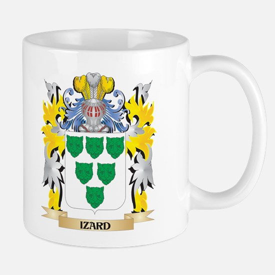 Izard Coat of Arms - Family Crest Mugs