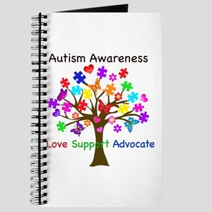 Autism Awareness Tree Journal