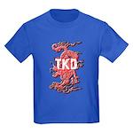 Taekwondo Dragon Kids Dark T-Shirt