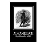 Adramelech Postcards (Package of 8)