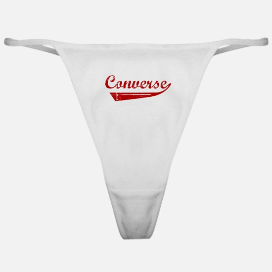 Converse (red vintage) Classic Thong