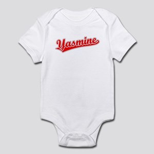 Retro Yasmine (Red) Infant Bodysuit