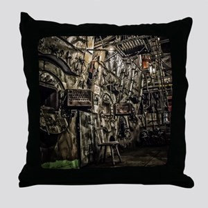 The Boiler Room Throw Pillow